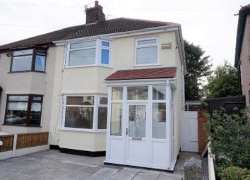 Thumbnail 3 bedroom semi-detached house for sale in Norville Road, Liverpool