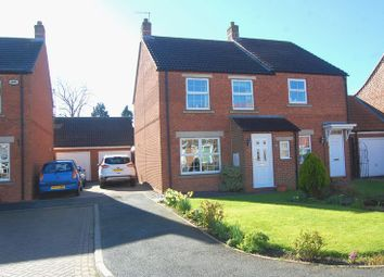 Thumbnail 3 bed semi-detached house for sale in Linen Way, Brompton, Northallerton