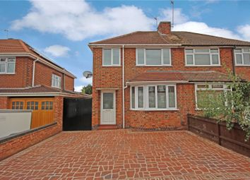 Thumbnail 3 bed semi-detached house to rent in Birchtree Avenue, Birstall, Leicester, Leicestershire