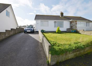 Thumbnail 2 bed semi-detached bungalow for sale in Droskyn Way, Perranporth