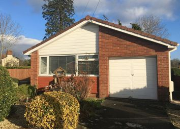Thumbnail 2 bed detached bungalow for sale in Mineah Drive, Guilsfield, Welshpool