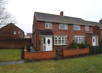 Thumbnail 3 bed semi-detached house for sale in Bek Road, Durham, Durham