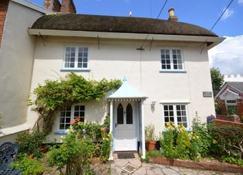 Thumbnail 3 bed end terrace house to rent in Coburg Road, Sidmouth, Devon