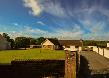 Thumbnail 4 bed detached bungalow for sale in Thornhill Road, Cwmgwili, Llanelli