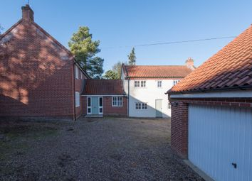 Thumbnail 5 bed detached house for sale in West End, Old Costessey, Norwich