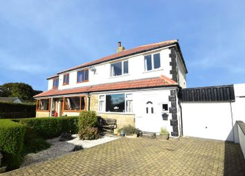 Thumbnail 3 bed semi-detached house for sale in Beech Avenue, Denholme, West Yorkshire