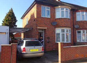 Thumbnail 3 bed semi-detached house for sale in Kicthner Rd, Leicester