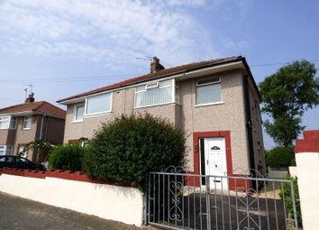 Thumbnail 3 bed semi-detached house for sale in Hestham Avenue, Morecambe