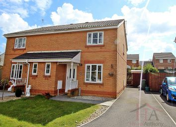 Thumbnail 3 bedroom semi-detached house for sale in Maes Y Wennol, Miskin, Pontyclun, Rhondda, Cynon, Taff.