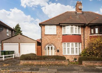 Thumbnail 3 bed semi-detached house for sale in Abergeldie Road, London