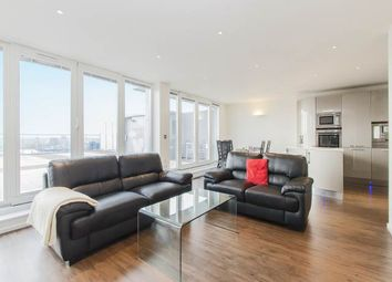 Thumbnail 3 bed flat to rent in The Oxygen, 18 Western Gateway, Royal Victoria, London