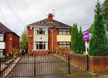 Thumbnail 2 bed semi-detached house for sale in Longton Hall Road, Stoke-On-Trent