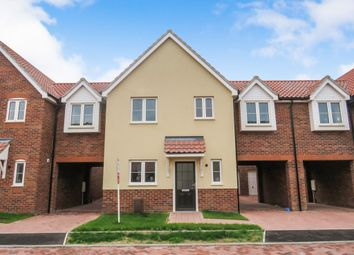 Thumbnail 4 bedroom link-detached house for sale in Mildenhall Road, West Row, Bury St. Edmunds