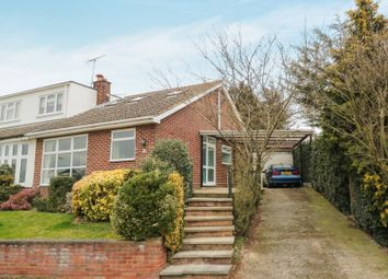Thumbnail 3 bed semi-detached bungalow for sale in Whitehall Close, Nazeing, Waltham Abbey