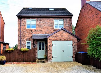 Thumbnail 4 bed detached house for sale in School Lane, Wrexham