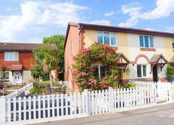 Thumbnail 2 bed end terrace house for sale in Stag Close, New Milton, Hampshire