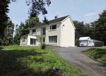 Thumbnail 4 bed detached house for sale in Heol Y Fedw, Cwmann, Lampeter
