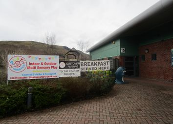 Thumbnail Business park for sale in The Play Quarter, Woodlands Business Park, Ystradgynlais, Swansea.