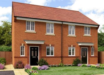 "Thumbnail 3 bed semi-detached house for sale in ""Hawthorne"" at Aberford Road, Wakefield"