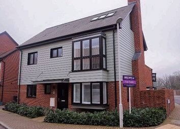 Thumbnail 4 bed detached house for sale in Hawley Drive, Leybourne Chase, West Malling