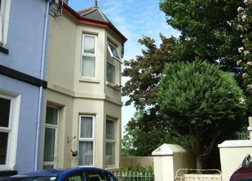 Thumbnail 2 bed terraced house to rent in Pellow Place, Stoke, Plymouth