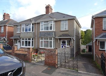 Thumbnail 3 bed semi-detached house for sale in 74 Broadway, St Thomas, Exeter, Devon