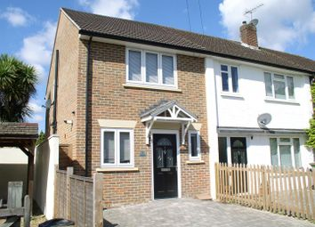 Thumbnail 2 bed end terrace house for sale in North Road, Hersham, Walton-On-Thames