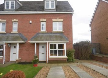 Thumbnail 4 bed semi-detached house for sale in Hopepark Drive, Smithstone, Cumbernauld