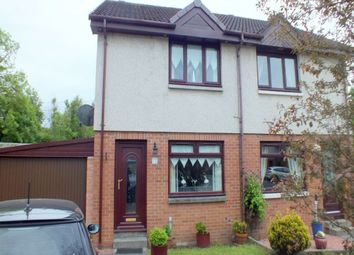 Thumbnail 2 bed semi-detached house to rent in Ashley Park, Uddingston, Glasgow