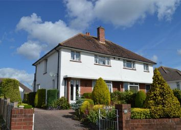 Thumbnail 3 bed semi-detached house for sale in Hulham Road, Exmouth, Devon