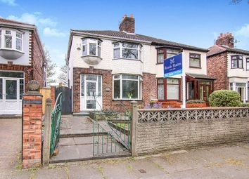 Thumbnail 3 bed semi-detached house for sale in Walton Hall Avenue, Liverpool