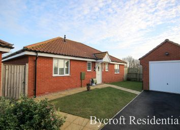 Thumbnail 3 bed detached bungalow for sale in Sundew Close, Caister-On-Sea, Great Yarmouth