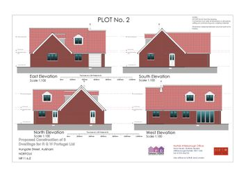 Thumbnail 4 bed bungalow for sale in Hungate Street, Aylsham, Norwich