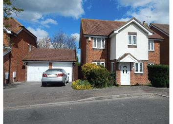Thumbnail 4 bed detached house for sale in Cheltenham Close, Gravesend