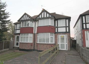Thumbnail 3 bed terraced house to rent in East Rochester Way, Sidcup, Kent