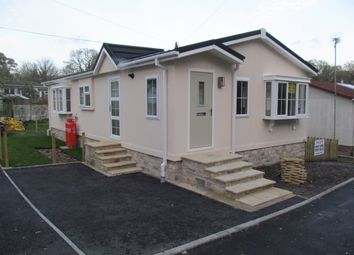 Thumbnail 2 bed mobile/park home for sale in Silent Woman Park (Ref 5759), Wareham, Dorset