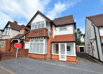 Thumbnail 4 bed detached house to rent in Jockey Road, Sutton Coldfield