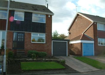 Thumbnail 3 bed semi-detached house to rent in The Motte, Rotherham