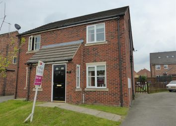 Thumbnail 2 bed semi-detached house for sale in Cloister Close, Scunthorpe
