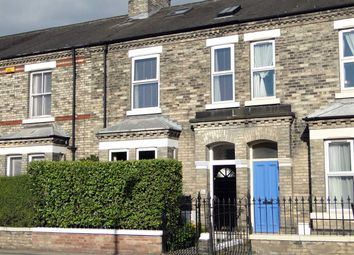 Thumbnail 4 bed terraced house for sale in Barbican Road, York