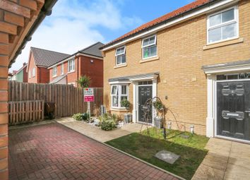 Thumbnail 3 bedroom semi-detached house for sale in Gilbert Road, Saxmundham