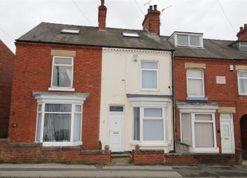 Thumbnail 4 bed terraced house for sale in Clarence Road, Worksop