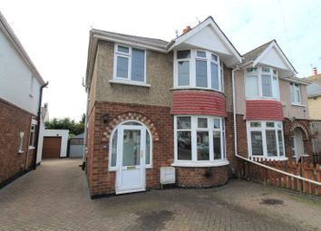Thumbnail 3 bed semi-detached house to rent in Richmond Road, Rodbourne Cheney, Swindon, Wiltshire