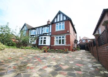Thumbnail 4 bed semi-detached house for sale in Durham Road, Low Fell, Gateshead