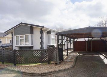 Thumbnail 2 bed mobile/park home for sale in Takeley Park, Bishop's Stortford