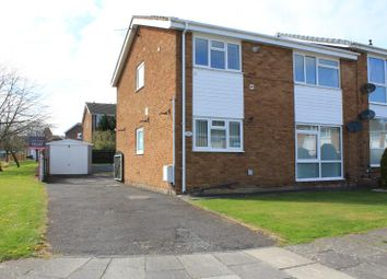 Thumbnail 2 bed flat for sale in Hebden Avenue, Carlisle, Cumbria