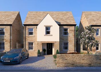Thumbnail 4 bedroom detached house for sale in Weavers Moorings, Walsden, Todmorden