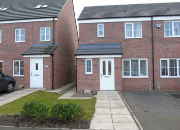 Thumbnail 3 bed semi-detached house for sale in Admiral Court, Blyth