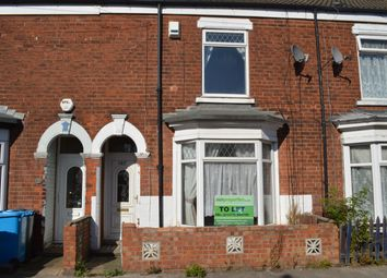 Thumbnail 3 bed terraced house to rent in Rosemead Street, Hull