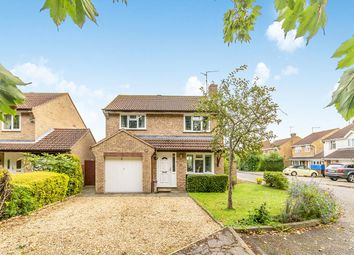 Thumbnail 4 bed detached house for sale in Augusta Close, Parnwell, Peterborough
